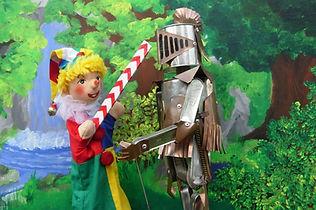 Kasperl und der Ritter Blech