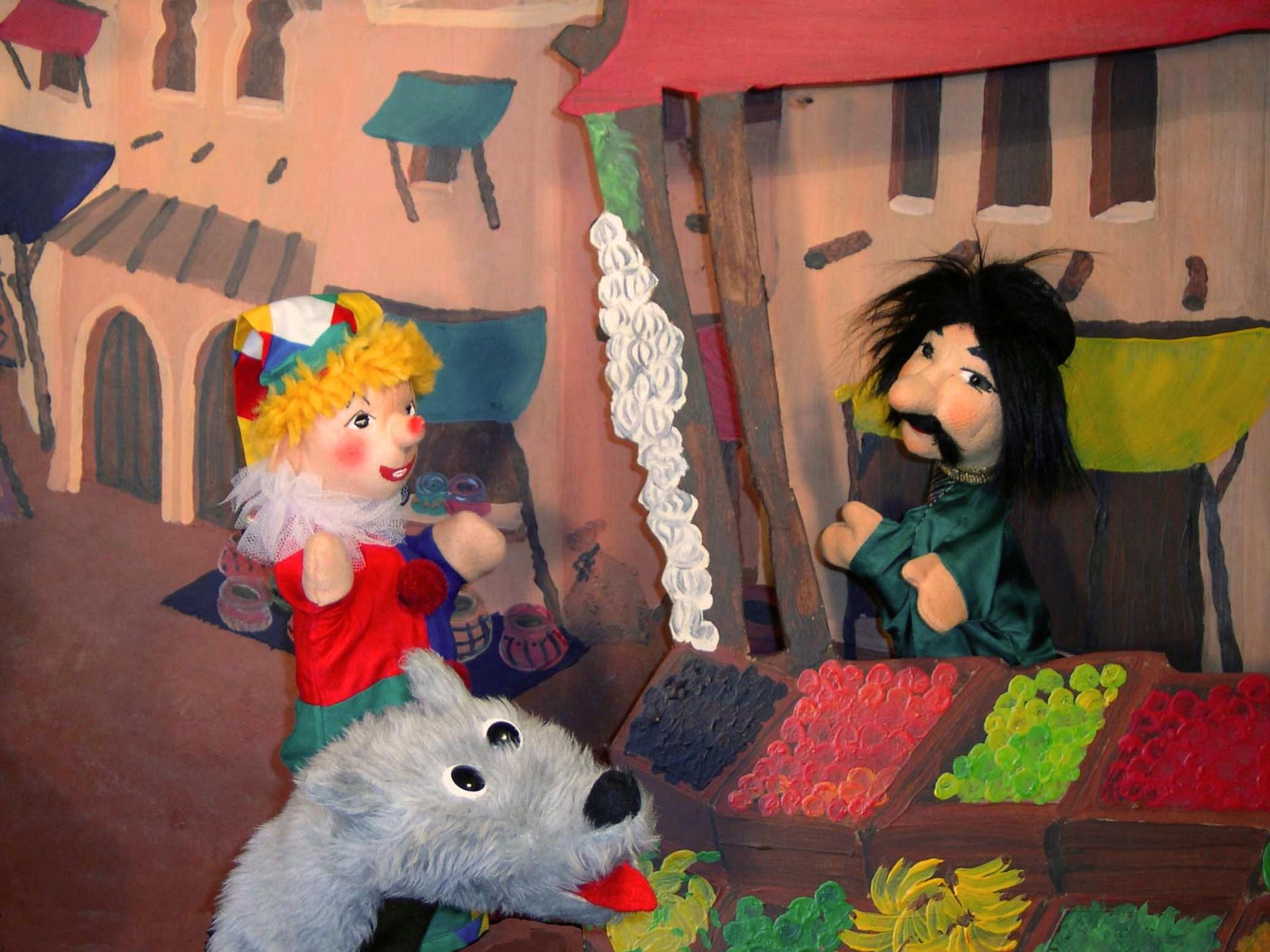 Friedburger Puppenbühne.Kasperl und der