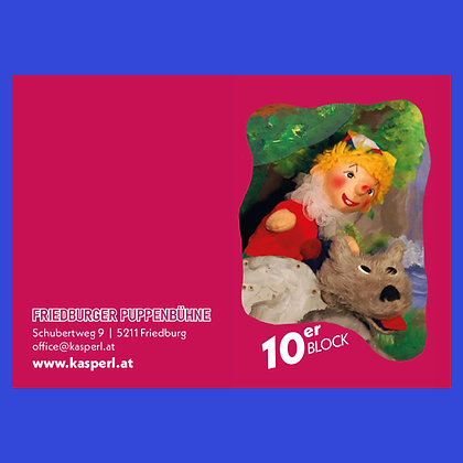 Kasperl 10er-Block Salzburg DAS KINO