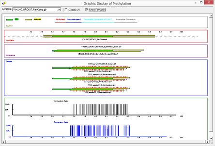 Mutation Surveyor  メチル化 バイサルファイト処理
