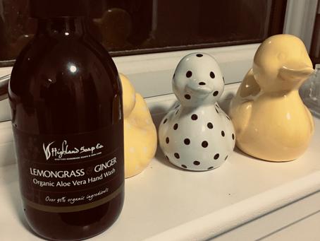 Product Review - Lemongrass & Ginger Organic Aloe Vera Handwash