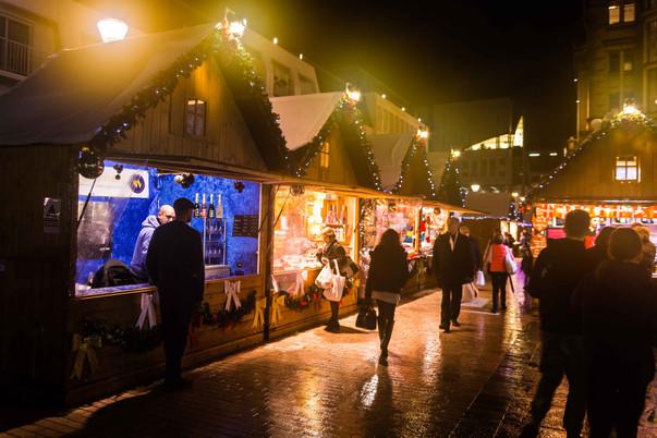 Village de Noël de Vincennes.