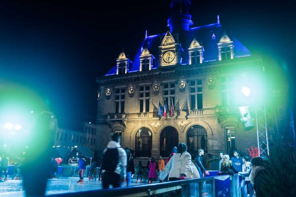 Patinoire de Vincennes.