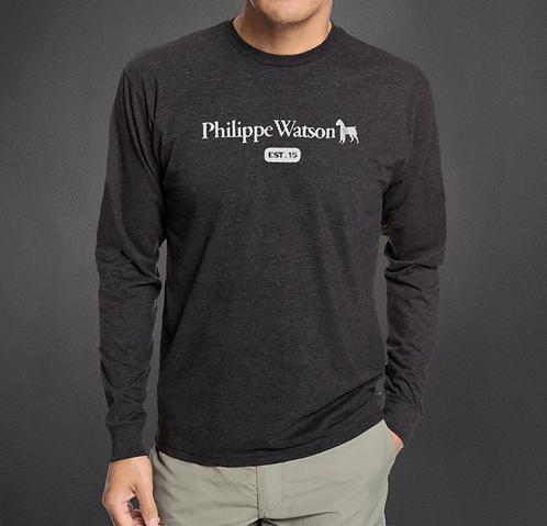 T-Shirt manches longues Charcoal