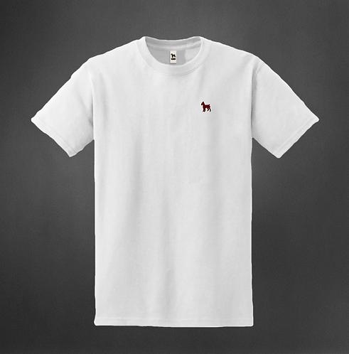T-Shirt Blanc col rond