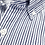Thumbnail: Blue striped oxford shirt
