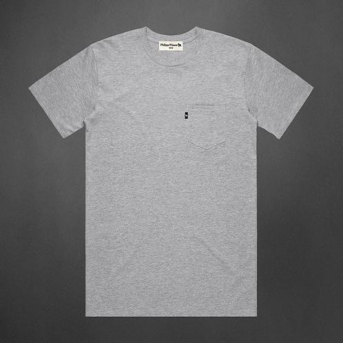 T-Shirt gris avec poche