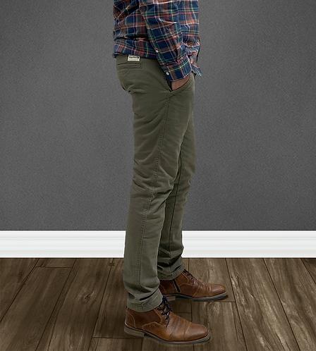 Pantalon chino Slim Kaki