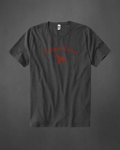 T-Shirt gris signature
