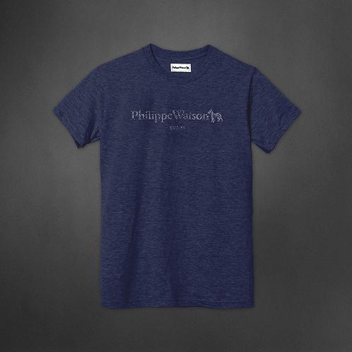 T-Shirt bleu signature