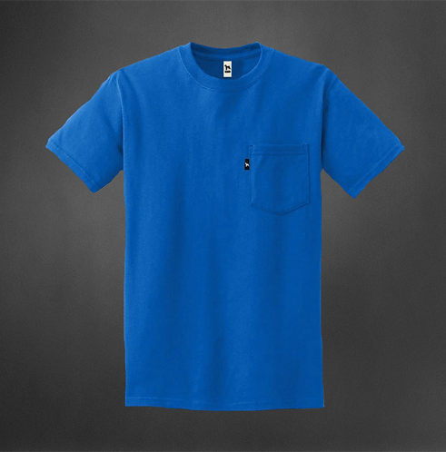 T-Shirt Royal avec poche