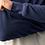 Thumbnail: Chandail col rond bleu