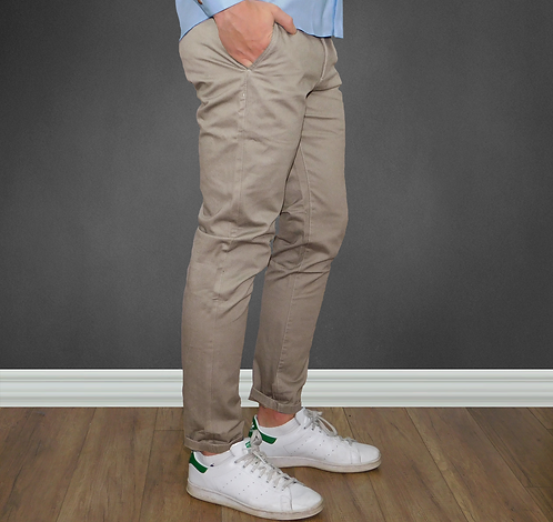 Pantalon chino Tan extensible