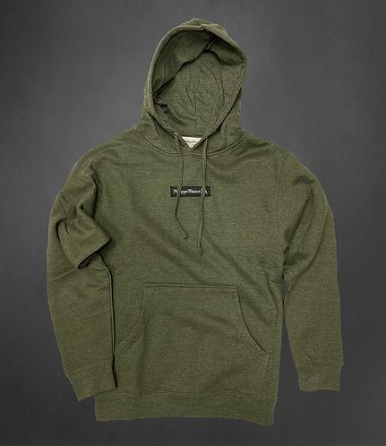 Hoodie vert army