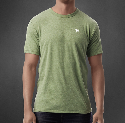 T-Shirt Vintage vert