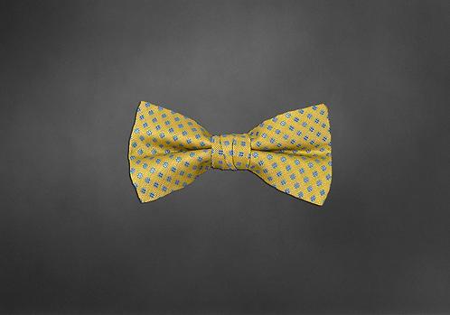 Noeud papillon HASHTAG jaune