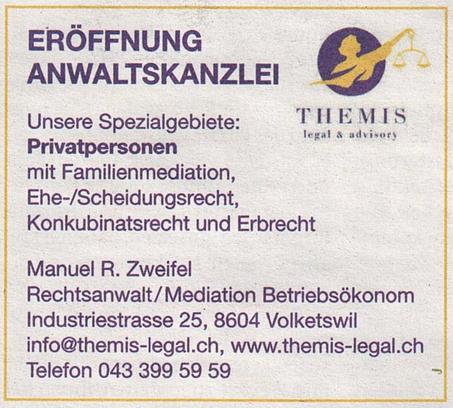 Eröffnung Anwaltskanzlei (1/3): Privatpersonen