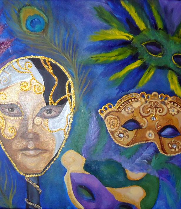 My Purim Masks
