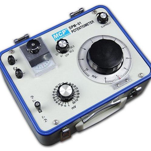 携帯用直流電位差計 DPM-01