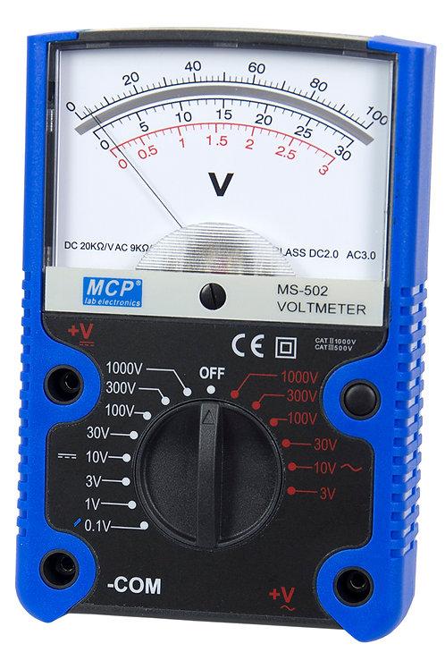 アナログ電圧計 MS-502