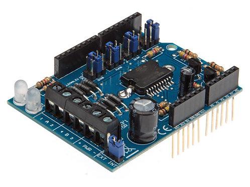 Arduino用モーター&電源シールド VMA03