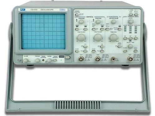 2CHアナログオシロスコープ 100MHz CQ6103