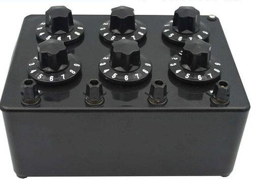 精密ダイヤル式可変抵抗器 DBR-06S