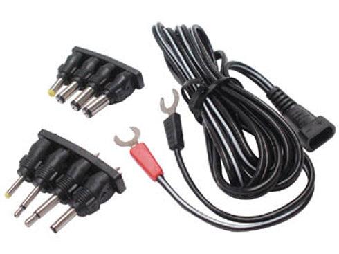 Y端子電源コード 8種の変換プラグ付  PLUGC6