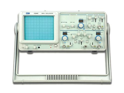 2CHアナログオシロスコープ 60MHz CQ5660