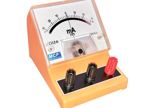 アナログ検流計 ガルバノメーター ±30mA DCG-2