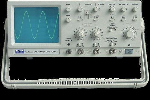 2CHアナログオシロスコープ 30MHz CQ5030