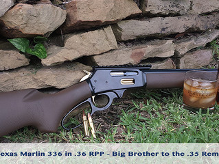 Introducing the .36 RPP - Big Brother to the .35 Rem and .356 Win (Marlin 336 Rifle Conversion)