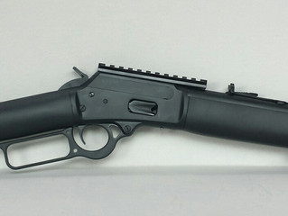 Marlin 1894: Push comes to shove. Stretching the .44 mag.