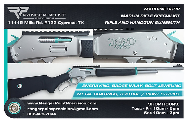 Firearm Coatings, Wood Refinishing, Engraving, Inlay