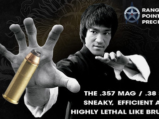 .357 Magnum / .38 Special – The Bruce Lee of Survival Rifle Cartridges