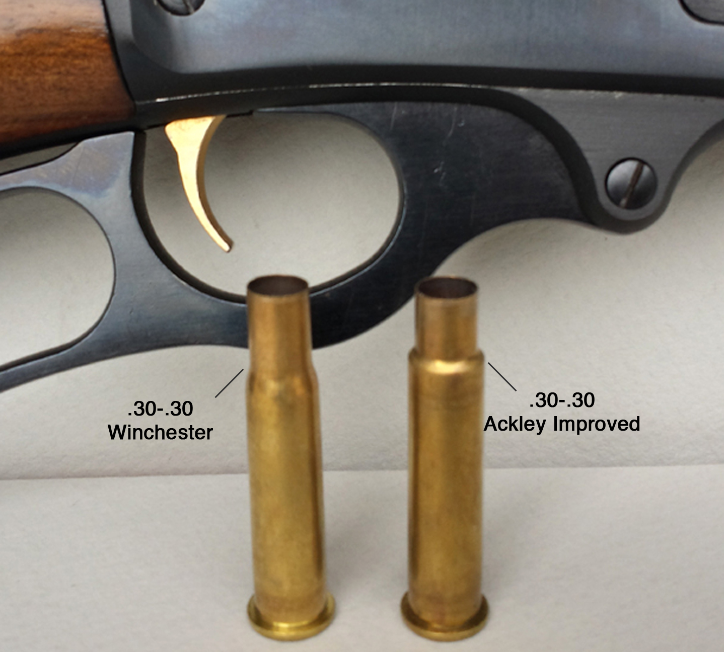 Reaming a Marlin 336 to 30-30 Ackley Improved for Handloads