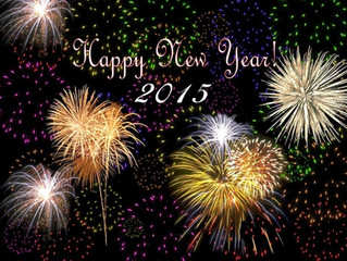 Happy New Year! 2015 Will be an Exciting Year!