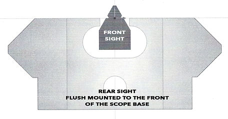 Ranger Point Sights Secondary Aim Point