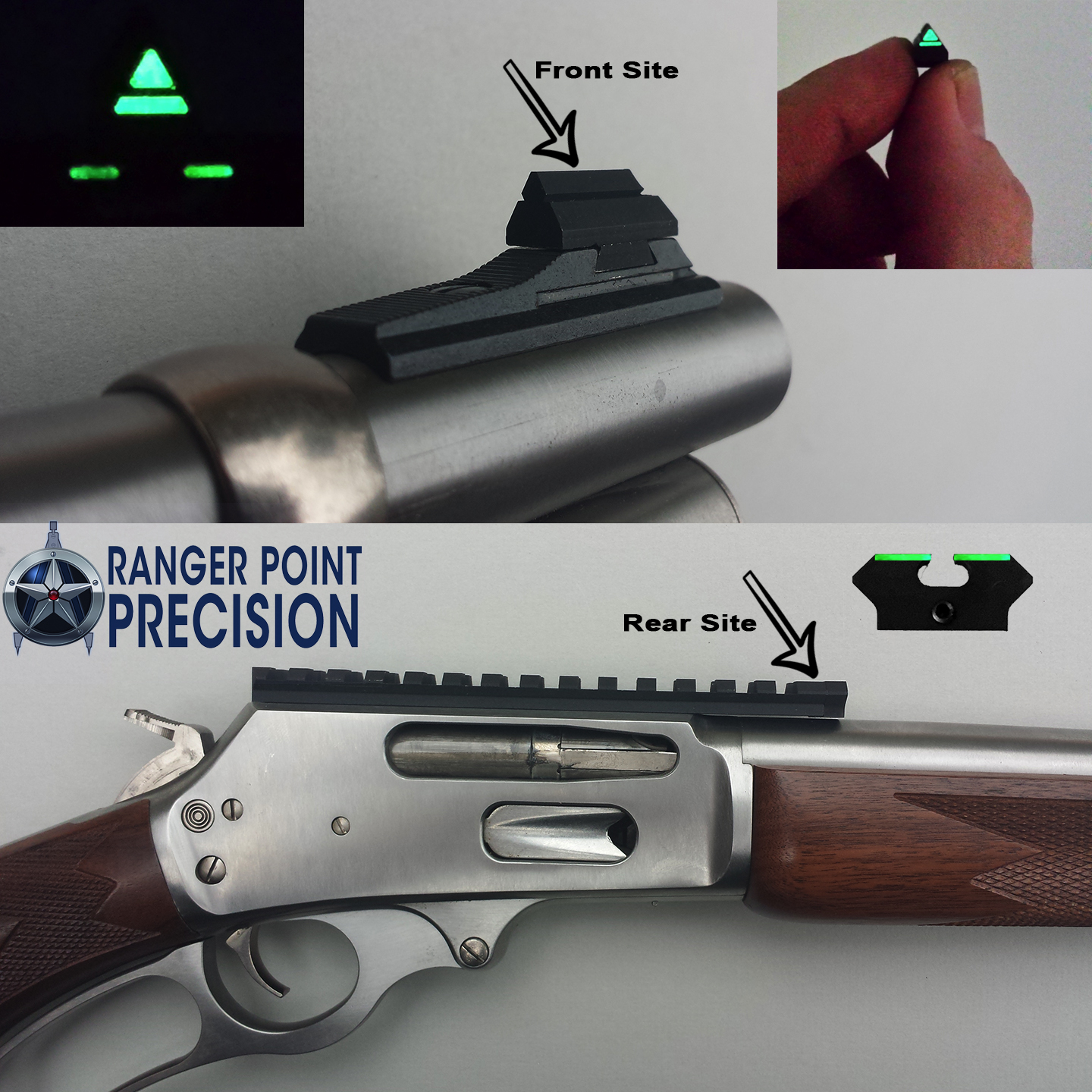 Night Sights for Lever Action Rifles? You Bet!   Lever
