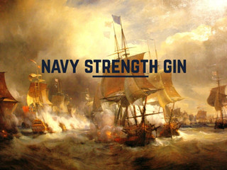 What is navy strength gin and what do you do with it?