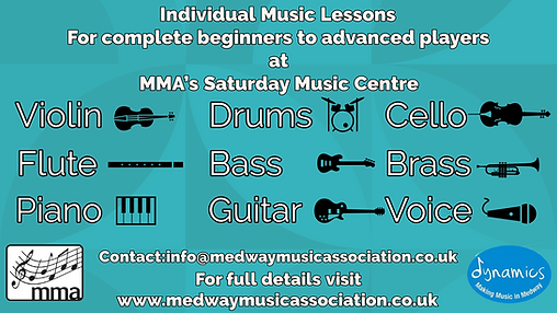Individual Music Lessons Medway