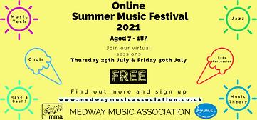 Online Summer Music Festival Flyer (1) (