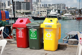 Event waste and rubbish bins in Auckland