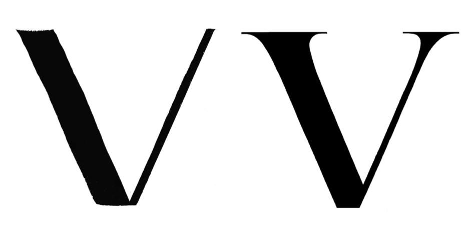 Letterform V