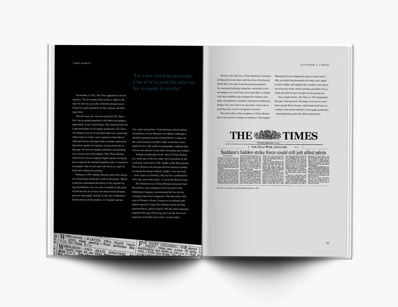 Times Roman Editorial