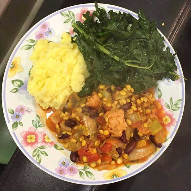 Here is a vegan meal made by our lovely