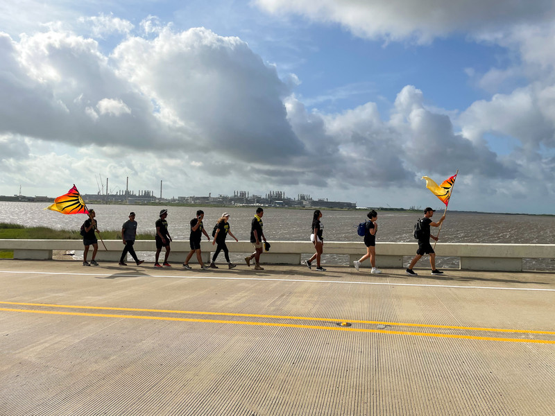 Marching into Texas