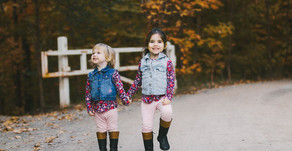 Mommy and me - Delaney, Kinsley and Macey Fall 2018