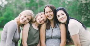 Outdoor Sister Session - Kayla,  Kennadie,  Korinity and Kiersten