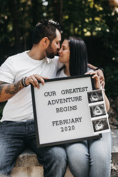 Pregnancy Announcement at Queenston Heights
